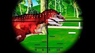 Dinosaur Hunter Sniper Safari Animals Hunt #2 (by Action Action Games) Android Gameplay Trailer