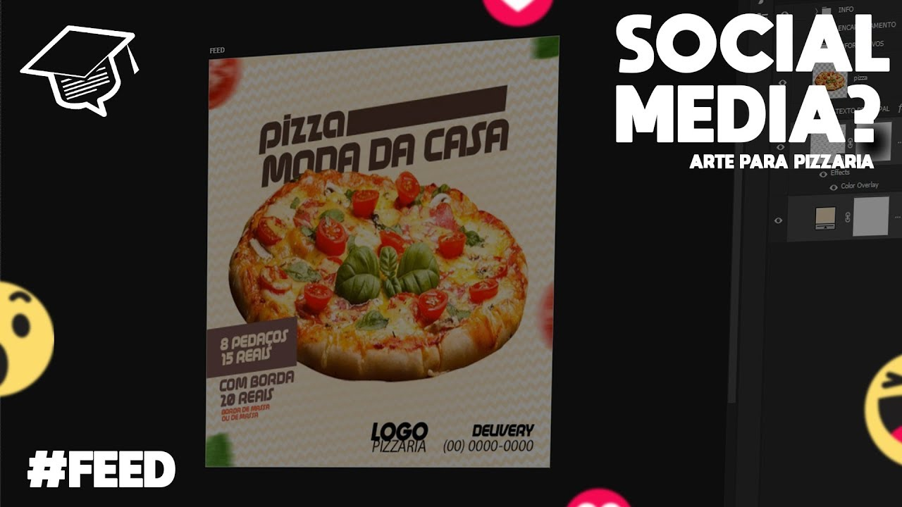 Arte Pizza Criando Arte Para Pizzaria Social Media