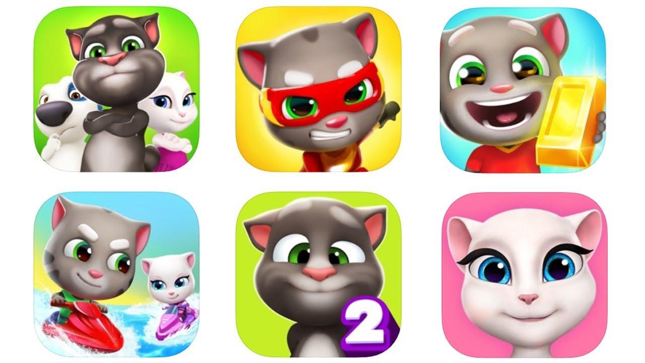 Game Vui Mèo Tom Cho Bé Top Trò Chơi Talking Tom Android/IOS