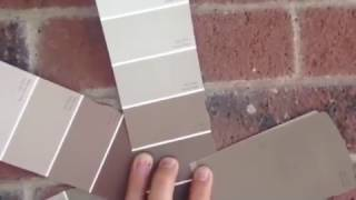 Exterior Sample Colors for Brown Washed Red Brick