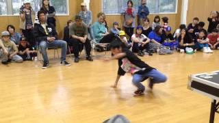 SHO-YA vs yudai / キッズ BEST 16 / 北の国から 関西予選 2014.10.26.SUN