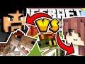 DILOPHOSAURUS VS ALLOSAURUS | Minecraft Dinosaurs Race Challenge [ Jurassic World Mods ]