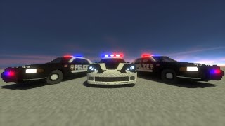 Police Chase - Community Collab Part 2 | Minecraft Animation [HD]
