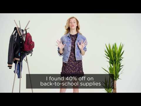 #DealBrag   How Brooklyn Decker Saves Money on Back-to-School Supplies