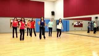 Leaving Town - Line Dance (Dance & Teach in English & 中文)