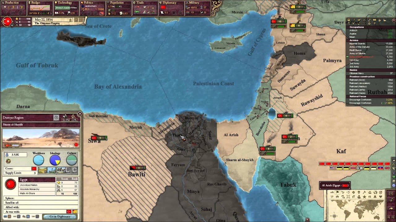 Victoria 2 Ottoman Empire