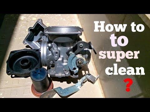 How to super clean ? Bajaj NS 200 carburetor ? Episode 3