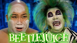 EWW! Beetlejuice Halloween 2020 Makeup Transformation | PatrickStarrr