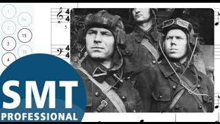 Как играть на гармони Три Танкиста | How to play Three tankman on accordion | SMT Pro