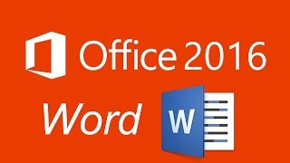 microsoft office 2016 word icdl tutorial part 1 تعلم وورد 2016