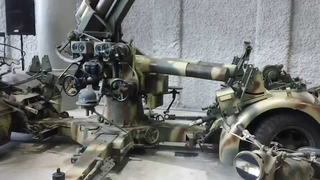 German Flak  Mm Gun National WW II Museum New Orleans - German museums in usa