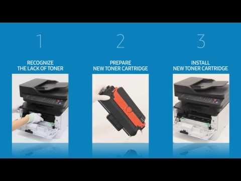 [Smart Tips] How to change the toner cartridge for M2670, M2671, M2870, M2880 series
