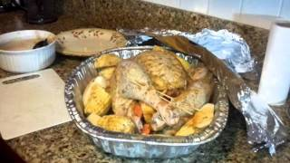 PAVO AL HORNO  parte #3 ( THANKS GIVING DAY )