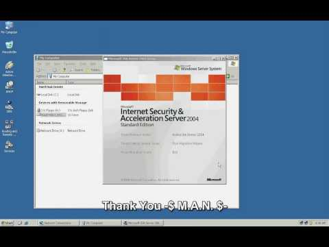 Part-1 ISA Server 2004 Installation