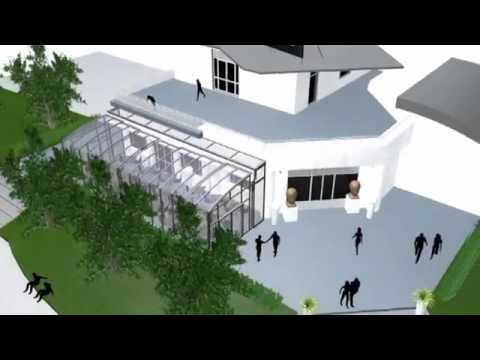 Animation Du Modèle D Abri De Terrasse Vérando Royal