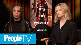 Reese Witherspoon Teases Little Fires Everywhere's 'complicated Ideas' About Motherhood | Peopletv