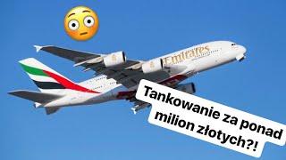 Ile pali samolot pasażerski?