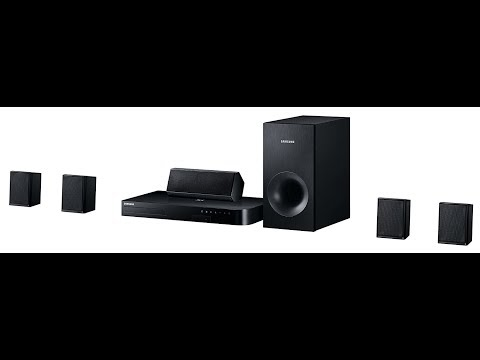 Unboxing Samsung Home Cinema 5.1 HT J4500 3D