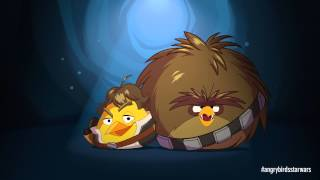 Angry Birds Star Wars: Han Solo & Chewie - exclusive gameplay