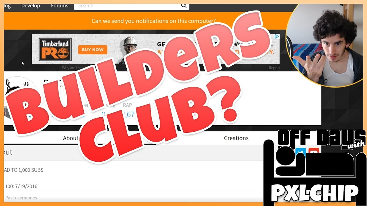 how to get builders club