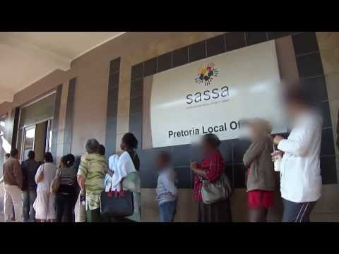 Inside the Offices of SASSA - Pretoria