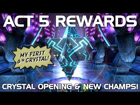 Act 5 Rewards (First 6-Star Crystal) Opening | Marvel Contest of Champions