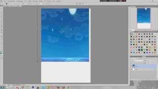 Видео!Урок как сделать меню в фотошопе!