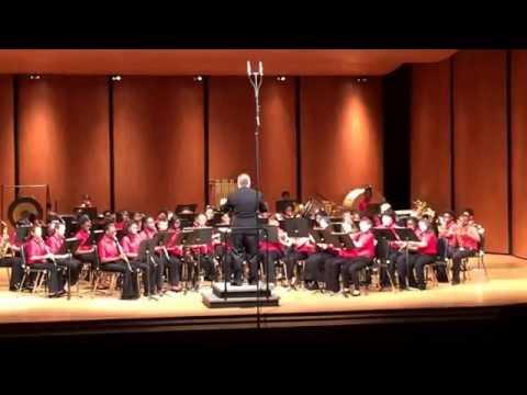 LFMS 6th Grade Cadet Band performing