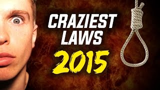 Craziest Laws 2015 Thumbnail