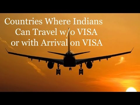 Visa Free Countries For Indian Passport Holders