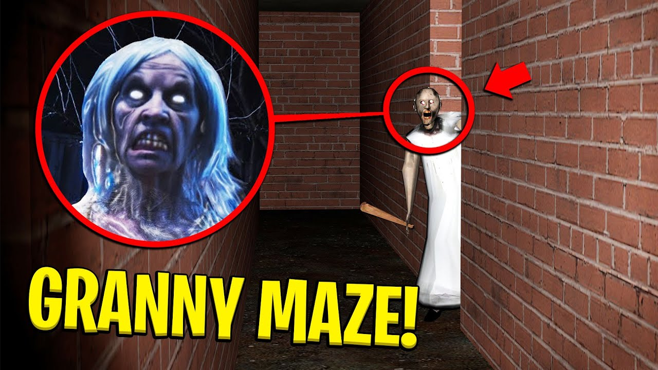 Do NOT Enter This SCARY GRANNY MAZE at NIGHT... (Granny Horror Game) - Garry's Mod Gameplay