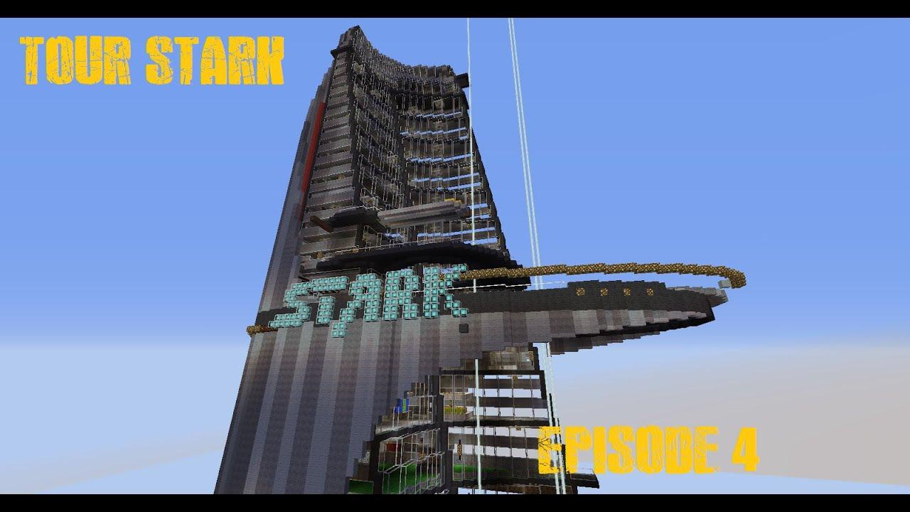 Tour Stark Ep4  Minecraft