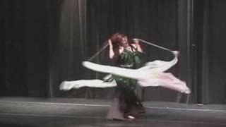 Voi (veil poi) Gears of War Theatrical Belly Dance Dana Beaufait