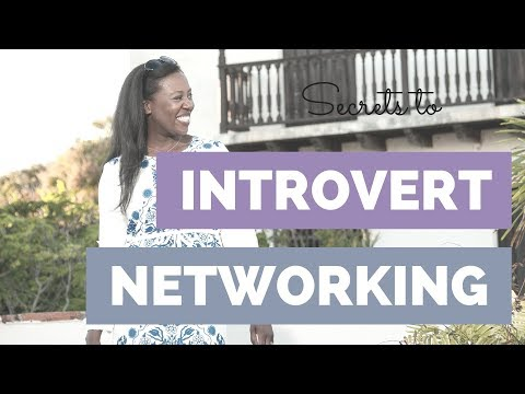 Introvert Networking Tips (avoid small talk & still build your business!)