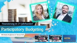 Participatory Budgeting   Finanzierung im 21  Jahrhundert