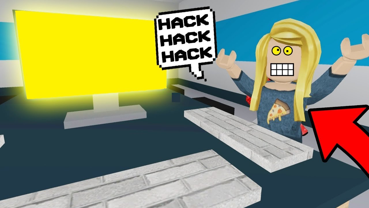 Op Hackers Can T Be Stopped Roblox Flee The Facility Youtube