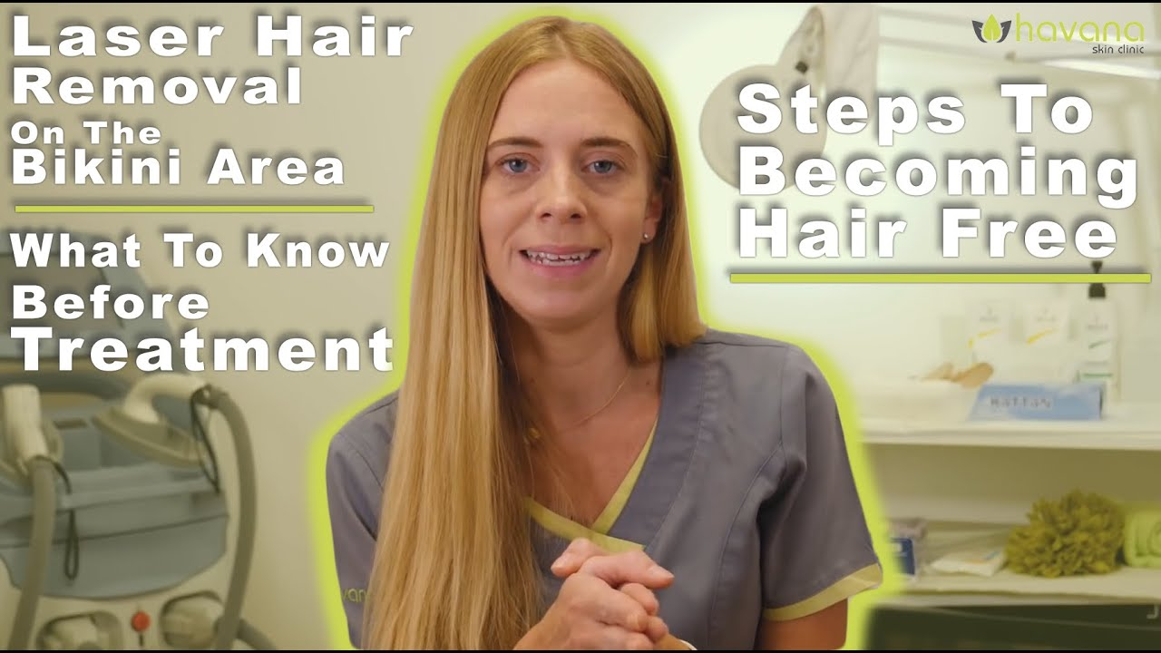 removal Bikini video hair laser