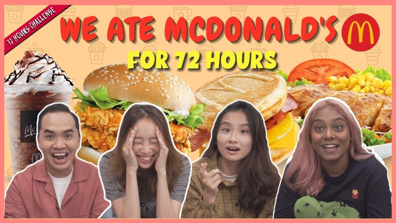 Download We Eat McDonald's For 72 Hours | 72 Hours Challenge | EP 38