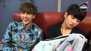 [BANGTAN BOMB] Sleeping Baby bothered with Jin