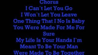 Made To Be Together Lyrics-Trey Songz