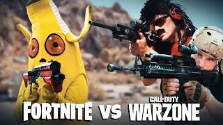 Fortnite vs Warzone