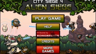 City Siege 4 Alien Siege-Walkthrough