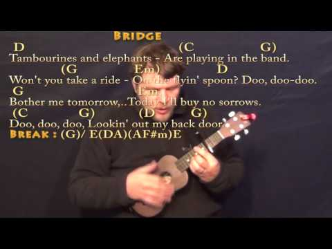 Lookin' Out My Back Door (CCR) Ukulele Cover Lesson with Chords/Lyrics