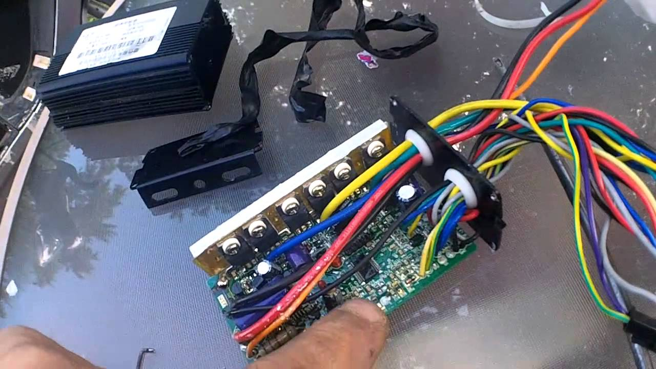 maxresdefault daymak ebike*repair bad controller wiring* youtube e bike controller wiring diagram at crackthecode.co
