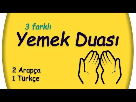 YEMEK DUASI - 3  Farklı Yemek Duası indir