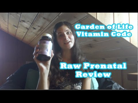 Garden of Life Vitamin Code Raw Prenatal Review YouTube