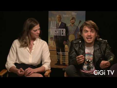 Emile Hirsch & Analeigh Tipton: All Nighter, Hipsters, & Dating
