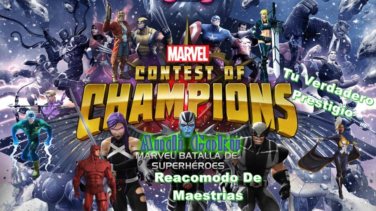 Top Las Mejores Maestrias Marvel Batalla De Super Heroes By Mraleman 274