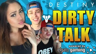 DIRTY TALK | Destiny Raid Funny Moments & EPIC Fails  (HARD MODE)