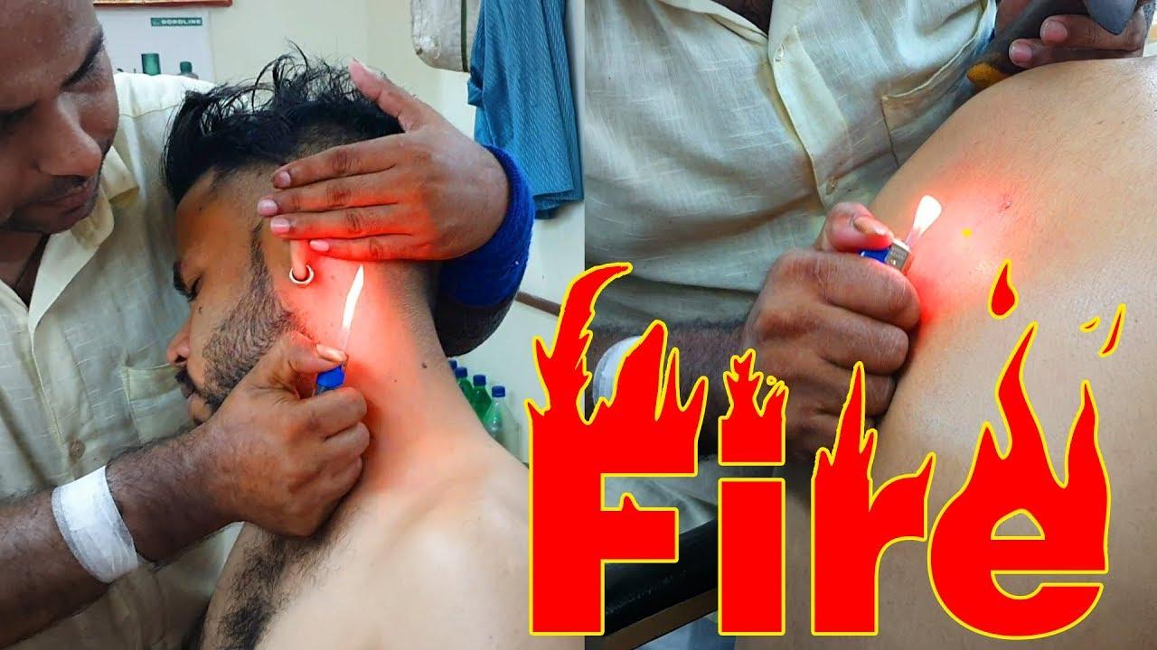 Fire Gua Sha head massage by Reiki Master | Indian Massage